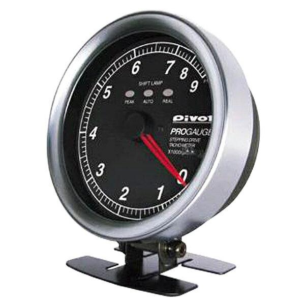 【期間限定】【送料無料】PIVOT(ピボット) PROGAUGE プロゲージ 80Φ タコメーター PTX-W(白照明)