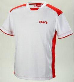 トムス製 Tシャツ 「メッシュTシャツ」レッド 全4サイズ【TOM'S】【TOYOTA】【シャツ】