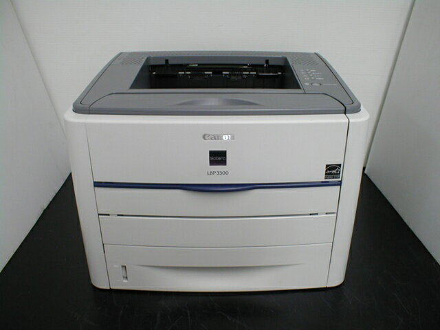 LBP3300 Canon USB/両面印刷 A4モノクロレーザープリンタ 約6,500枚 【】 メーカー:Canon 発売日:2006年3月