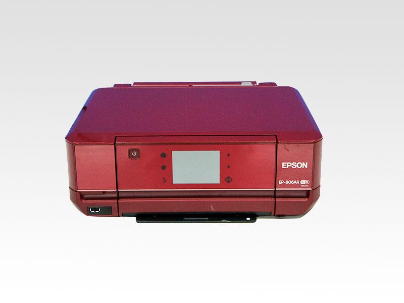 【IC70番インク対応】EP-806AR EPSON インクジェット複合機 【中古】【送料無料セール中! (大型商品は対象外)】