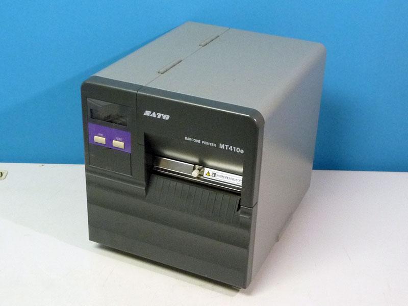 MT410e SATO スキャントロニクス カッター付 USBインターフェイス ラベルプリンタ【】【全品送料無料セール中!】