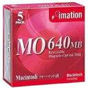 OD3-640S MACx5 IMATION Macintoshフォーマット済み 640MB MOディスク 5枚パック 新品【全品送料無料セール中! 〜 11/14(月)23:59まで!】