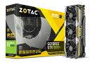 ZOTAC GeForce GTX 1080 Ti AMP Extreme Core Edition グラフィックスボード VD6368 ZTGTX1080Ti-11GGDDR5AMPCORE 11GB【新品】【送料無料セール中 (大型商品は対象外)】