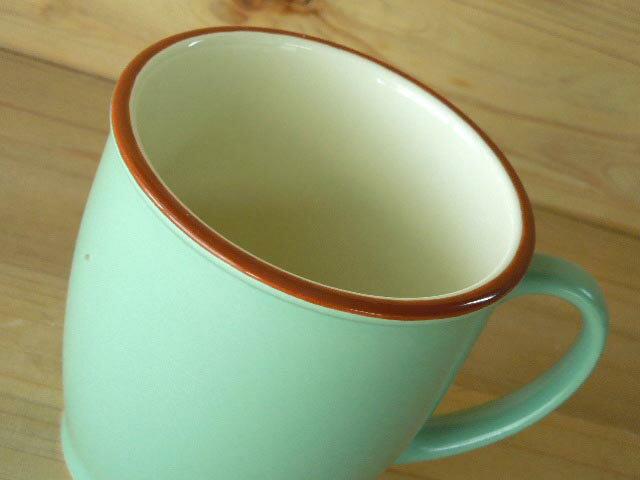 カラーぬり分 マグカップ グリーンの紹介画像2