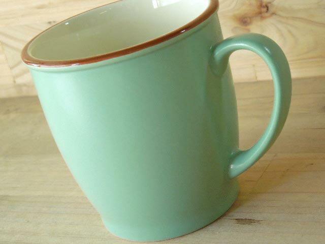 カラーぬり分 マグカップ グリーンの紹介画像3