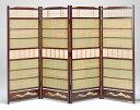 日本製 簾屏風 古代色 竹皮 「蒔絵調」廃版確定品の為、在庫確認必要 全国送料無料無料 代引き手数料無料