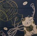 ショッピング一升餅 風呂敷 開運ふろしき 招き猫と小槌綿 二四巾(90cm) 大判風呂敷御祝 内祝 ギフト 海外へのお土産 一升餅 内祝 結婚祝 お祝い 長寿 引出物