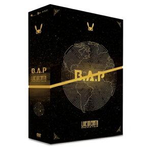 送料無料★「B.A.P DVD日本盤 LIVE ON EARTH PACIFIC TOUR DVD 」BAP日本語字幕付き 外箱若干傷有