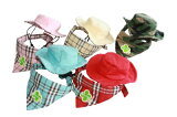 【ウェア小物】バンダナ付テンガロンハットPAW(犬用帽子)【RCP】