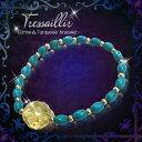 ◆◆ Tressillir -トレサイーユ- Citrine&Turquoise Bracelet [2個セット]( 開運グッズ 開運 ブレ...