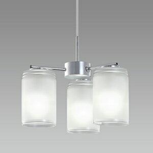 【送料無料】NECライティング LIFELED'S 小型LEDシャンデリア 〜4.5畳 昼白色相当 デュアルクローム XZ-LE26312N【smtb-u】