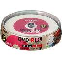 TDK 8倍速データ用 DVD-R DL ワイドプリント 10枚 DR85PWB10PS