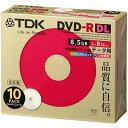 TDK 8倍速データ用 DVD-R DL ワイドプリント 10枚 DR85PWB10S