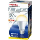 东芝LED灯泡 E-CORE 普通电灯泡形30W形式相当 E26电灯泡颜色 LDA6L/4[東芝 LED電球 E-CORE 一般電球形 30W形相当 E26 電球色 LDA6L/4]