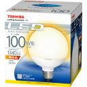 東芝 LED電球 ボール電球形 電球色 LDG13L-H/100W[LDG13LH100W]
