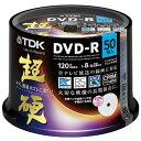 TDK 超硬 録画用DVD-R CPRM対応 ワイドプリント 50枚 DR120HCDPWC50PA