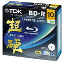 Ten pieces of BD-R 25GB Blu-ray Disc white BRV25HCPWB10A for 4 TDK super hard double speed recording
