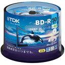 【ポイント10倍】TDK 4倍速対応BD-R ブルーレイディスク 25GB ホワイト 50枚 BRV25PWB50PA