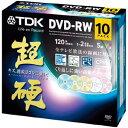 TDK 超硬 録画用DVD-RW カラーミックス 10枚 DRW120HCDMA10A