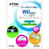 TDK Wii对应 游戏机干洗?配套元件湿/乾并用类型GC-WW2J[TDK Wii対応 ゲーム機クリーニング?キット 湿/乾併用タイプ GC-WW2J]