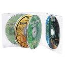 【3500円以上お買い上げで送料無料】サンワサプライ CD・DVDケースクリア FCD-61C