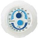 EMPEX エンペックス 温湿度計 シュクレミニ クリアホワイト TM-2381