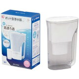 Airisuohyama 水壶型净水器白PJ-2[アイリスオーヤマ ポット型浄水器 ホワイト PJ-2]