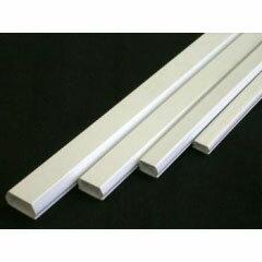 オーム電機 テープ付きモール 白3号 1m×1本00-4120