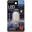 ELPA LED電球 ナツメ型E12 LDT1N-G-E12-G100