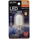 ELPA LED電球 ナツメ型E12 LDT1L-G-E12-G101