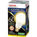 東芝 LED電球 E-CORE イー・コア 一般電球 60W相当 電球色 E26 LDA8L-G/60W