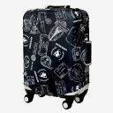 ショッピングugg T&S ティーアンドエス LEGEND WALKER LUGGAGE COVER 9077 スーツケースカバー Sサイズ ブラック 9077-S