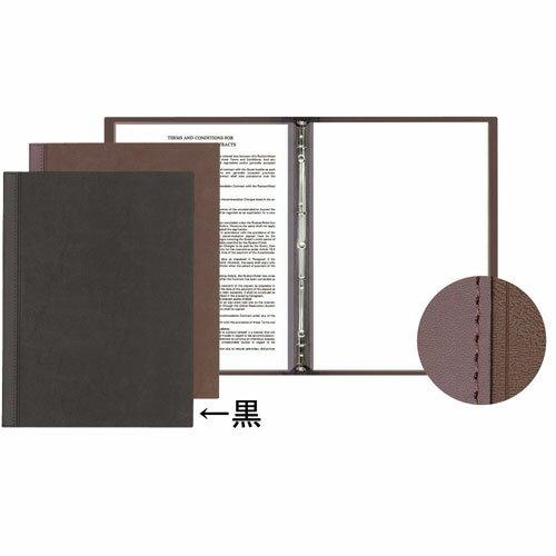 シンビ メニューブック スリム-B・LU 黒 3102410