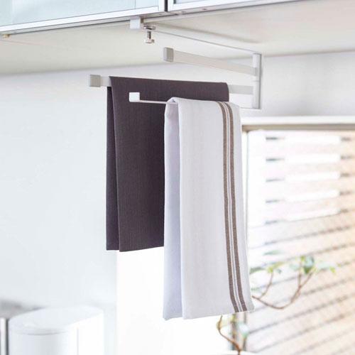戸棚下布巾ハンガー FLAT