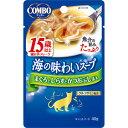 日本ペットフード コンボ キャット 海の味わいスープ 15歳以上 まぐろとしらすとかつおぶし添え 40g 1010613 ◇◇