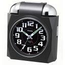 大音量 ベル音 アラームクロック 目覚まし時計 ノア MAG マグ ベルアタック T-656 ブラック