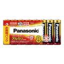 パナソニック PANASONIC アルカリ乾電池 単3形 8本パック LR6XJ/8SW XDV2201