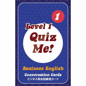 Paul's English Games Quiz Me! Business English Conversation Cards - Level 1, Pack 1 AB1.1