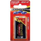 マクセル maxell 9V形 アルカリ乾電池「ボルテージ」 1本 6LF22(T)1B
