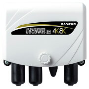 【送料無料】マスプロ電工 4K・8K対応 UHF・BS・CSブースター 35dB UBCBW35【smtb-u】