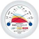 EMPEX エンペックス 健康管理 温湿度計 季節性インフルエンザ感染防止目安 TM-2582