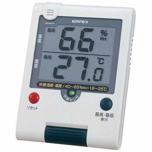 EMPEX エンペックス デカデジUD快適モニタ(デジタル湿度・温度計) TD-8181
