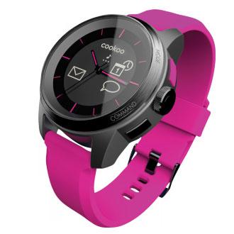 【送料無料】BLUETREK Bluetooth SMART対応アナログ腕時計cookoo watch ピンク CD-COOKOO-KP-01【smtb-u】 送料無料!&追加で何個買っても同梱0円!