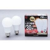 アイリスオーヤマ LED電球 広配光タイプ 電球色 E26 485lm 2個セット LDA5L-G-4T22P
