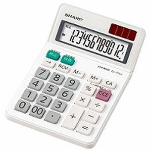 シャープ SHARP 電卓 ミニナイスサイズタイプ 12桁 EL-772J-X