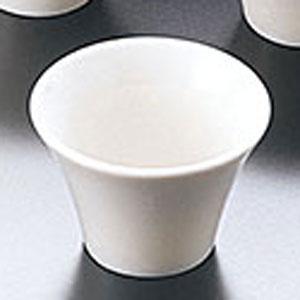 ヤマコー 陶器・反り丸型珍味入 白 26724