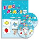 Maple Leaf Publishing Sing and Play Blue ティーチャーズガイド(日本語版・英語版 DVD CD-ROM) S&P_青・TG_CD-ROM