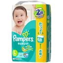 ショッピングオムツ P&G パンパース おむつ さらさらケア テープ ウルトラジャンボ L 68枚