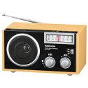 オーム電機 AudioComm AM/FM木製ラジオ ワイドFM対応 RAD-T556Z