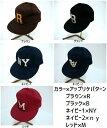 男女兼用 クラシックベースボールキャップ 5パターン HARD MAN JAPAN【ハードマンジャパン】(men'sキャップ、men'sハット、men'帽子)